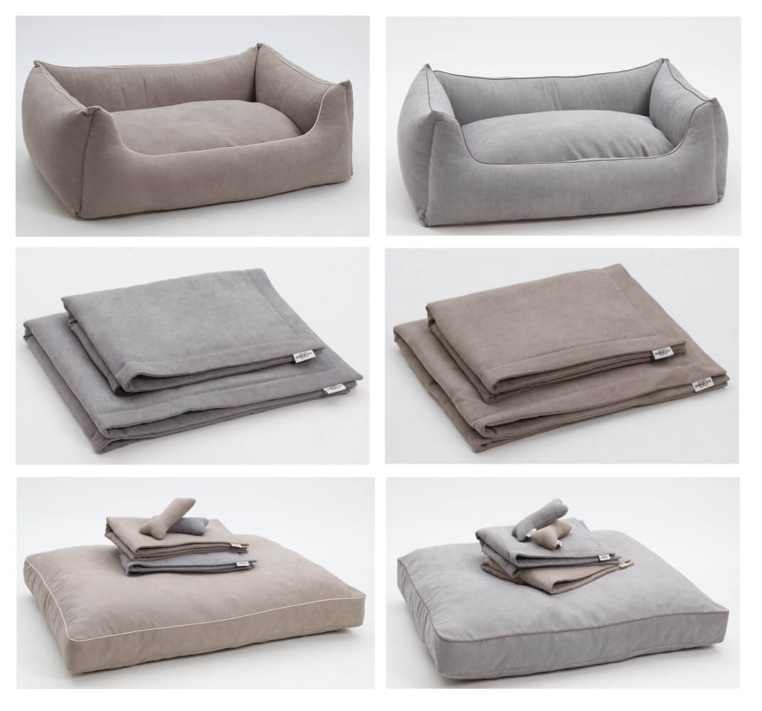 Brandnew Collection MONTEREY....dogbeds - cushions & plaids in perfectly matching colors...WAU! | DOGS in the CITY