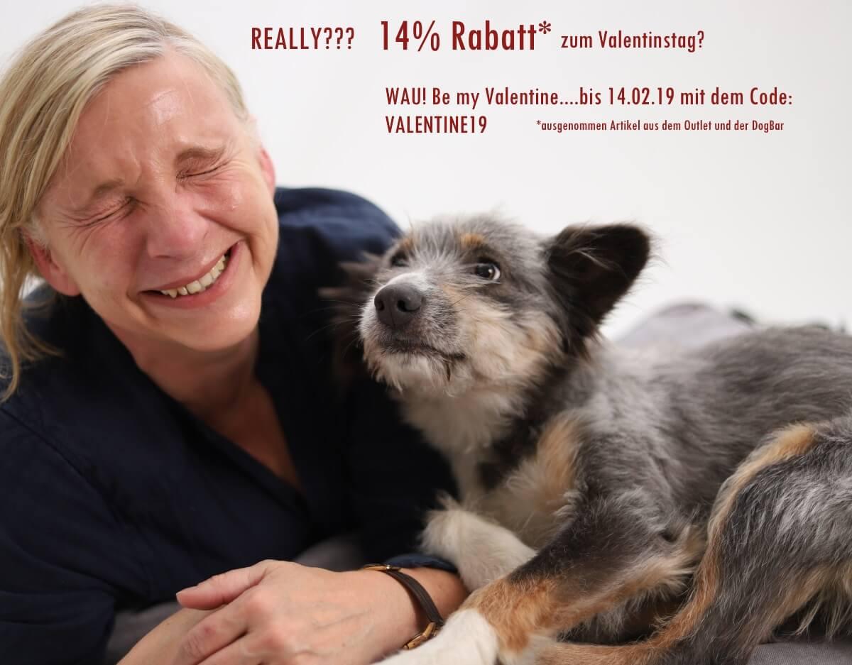 14% Rabatt* zum Valentinstag?! WAU! Be my Valentine mit dem Code: VALENTINE19 | BEHIND THE SCENES