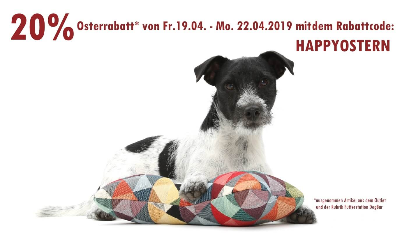 20% HAPPY EASTER RABATT! WHOOUUU...! | DOGS in the CITY