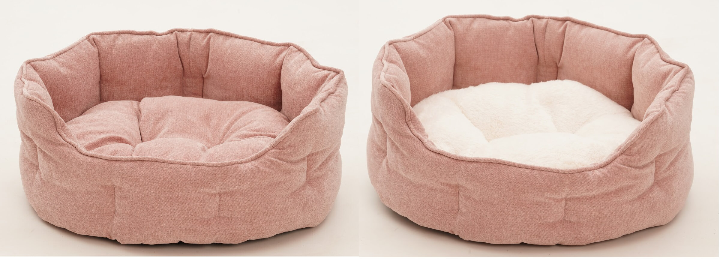 For all dogs and cats feeling rosy...Basket Abbey in amazing pink | DOGS in the CITY