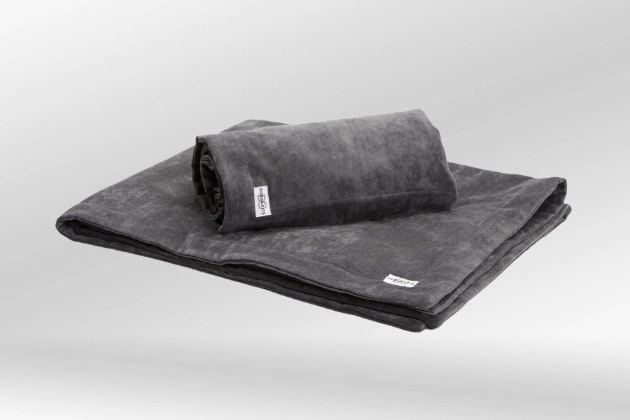 Dog blanket Mystic anthracite grey