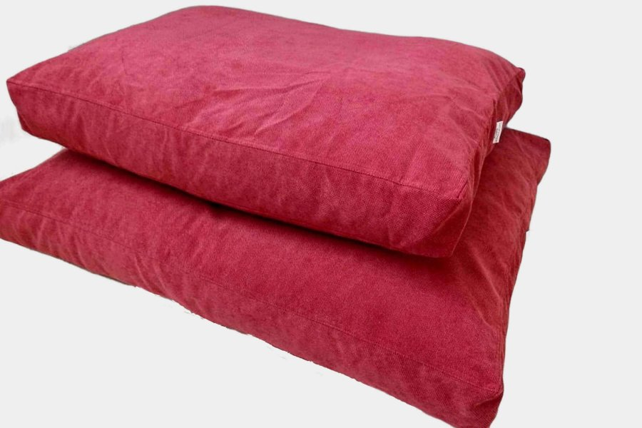 Dog Bed Cushion Madison Red L 120 X 90 Cm Dogs In The City
