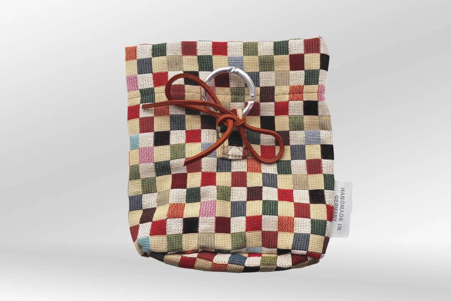 Treat Bag for Dogs Sanibel red