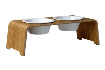 dogBar® M - light oak with porcelain