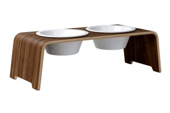 dogBar® M - walnut with porcelain