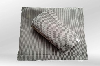 Dog Blanket Cord Chelsea grey