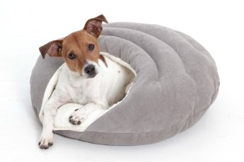 Dog Bed cave Bubble grey